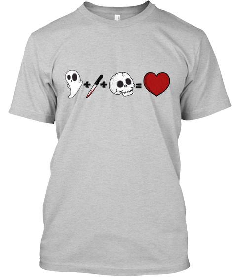 Logo Tee Light Steel T-Shirt Front