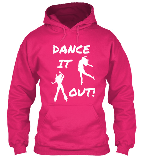 Dance It Out! Heliconia T-Shirt Front