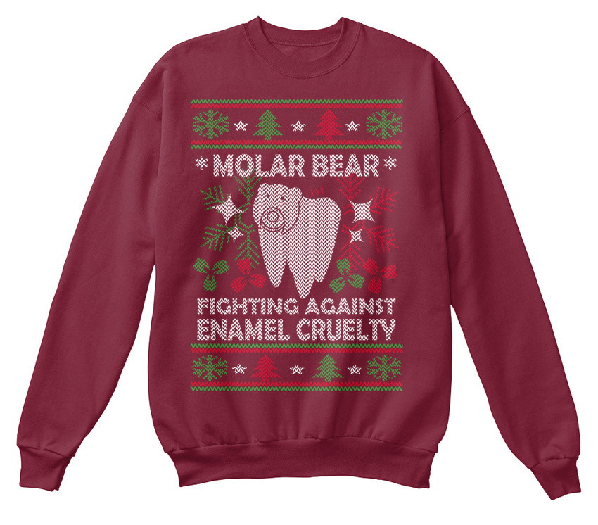 Eu-Au-Molar-Bear-ugly-Sweater-Bear-Fighting-Against-Sweat-Shirt-Confortable