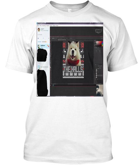 Ssssd Orginel Nibba Makin Sweater N Shee White T-Shirt Front