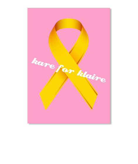 Kare For Klaire Pink T-Shirt Front