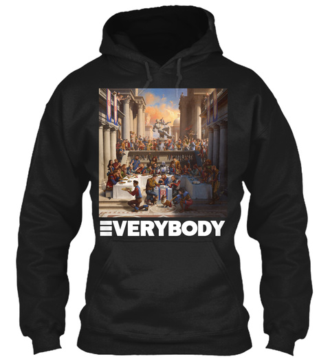 Everybody Black T-Shirt Front