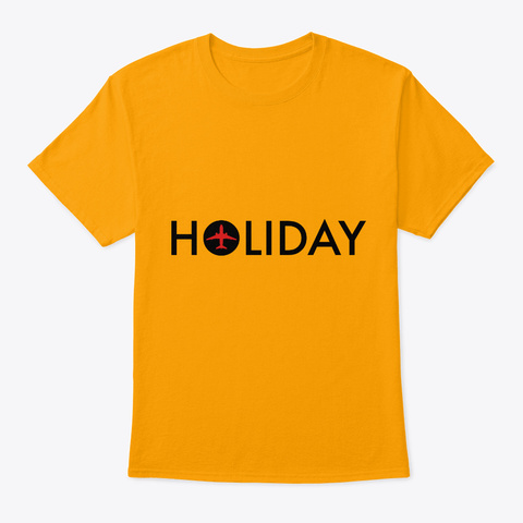 Holiday Party Crew Gold T-Shirt Front