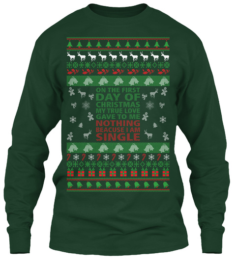 Green Day Christmas Sweater.True Love Funny Christmas Sweater