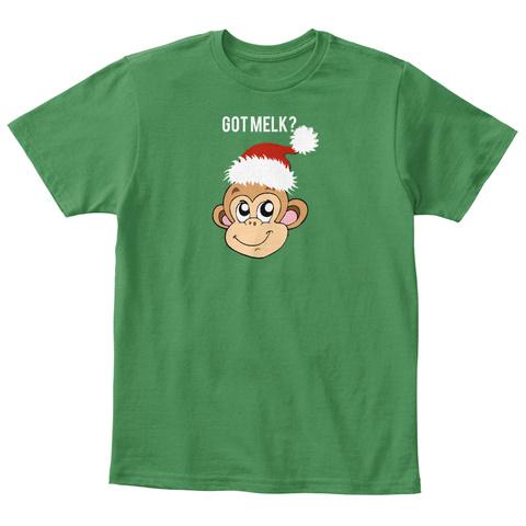 Got Melk?  Kelly Green  T-Shirt Front