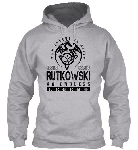 Rutkowski   Legends Alive Sport Grey T-Shirt Front