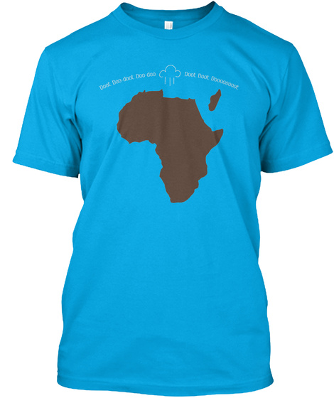When You Just Have To Bless The Rains Turquoise T-Shirt Front