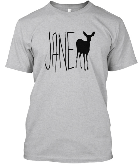 Jane Doe   Life Is Strange   Ca Sport Grey T-Shirt Front