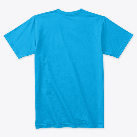 Call 911  Turquoise T-Shirt Back