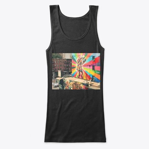 Street Art Black T-Shirt Front