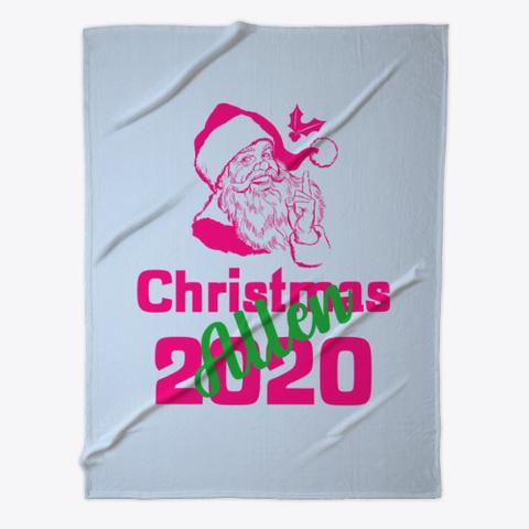 Allen Christmas 2020 Pale Blue T-Shirt Front