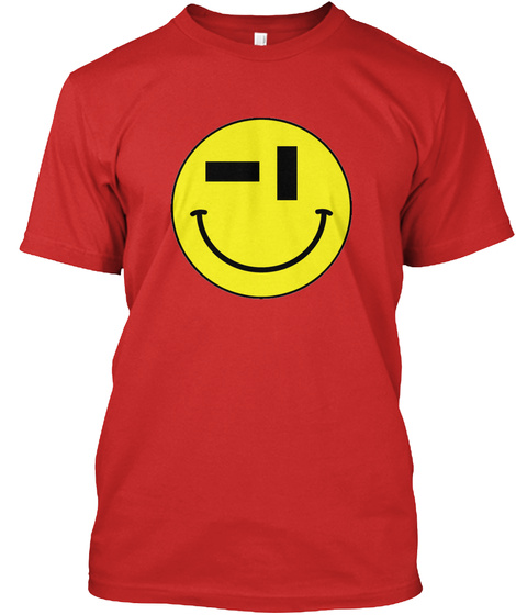 Full Flight Acid House Tee   Red Red T-Shirt Front