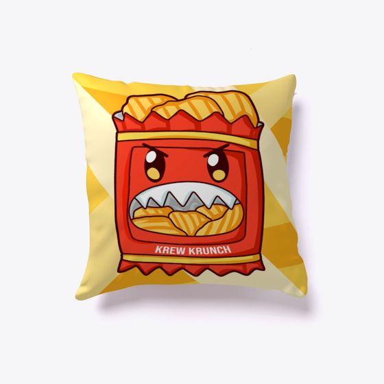 912f7b9b87 Krew Krunch Pillow Products from ItsFunneh | Teespring