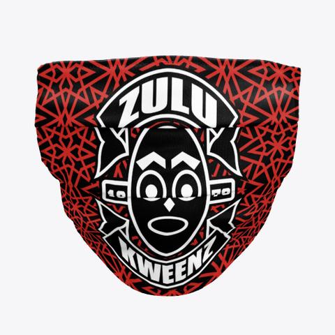 Zulu Kweenz  Face Mask: Pattern Edition Standard T-Shirt Front