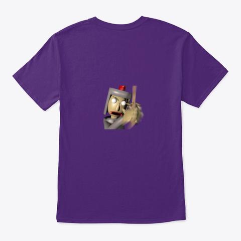 Incredible Craft Merch!!! Purple T-Shirt Back