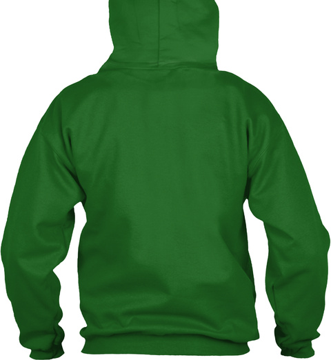 Funny Leprechaun Dancing Shamrock Patric Irish Green Sweatshirt Back