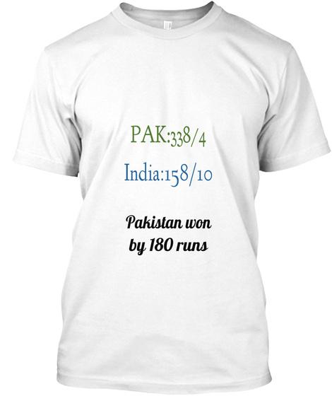 Pakistan vs India shirt