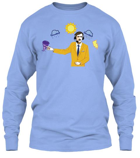 Weatherman Purge Light Blue T-Shirt Front