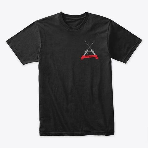 2nd Amendment   Shall Not Be Infringed Black T-Shirt Front