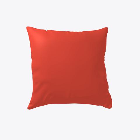 Fall Lynx Pillow Red T-Shirt Back