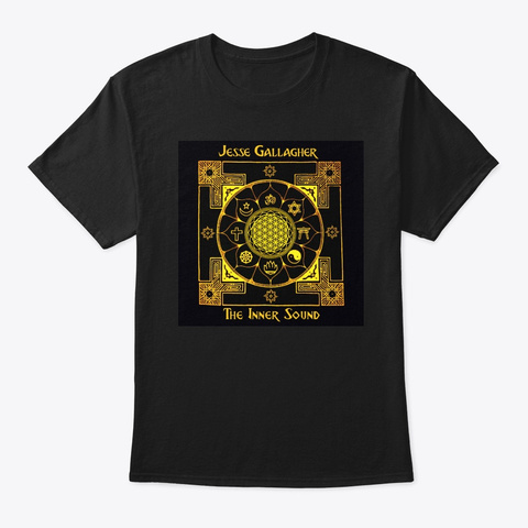 The Inner Sound (2020) Black T-Shirt Front