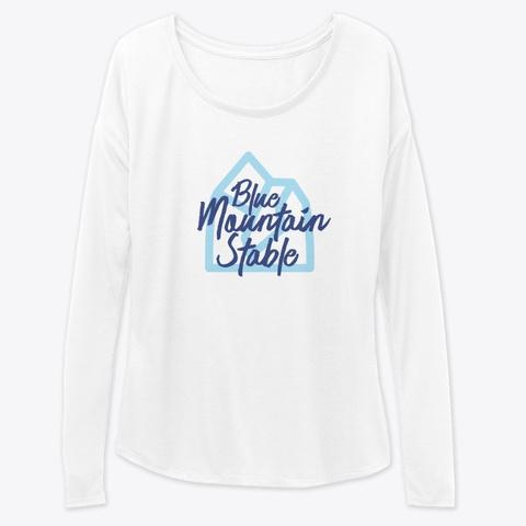 Blue Mountain Stable Mountain White Kaos Front