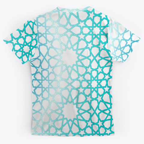 8 12 Tessellation Series V2 Standard T-Shirt Back