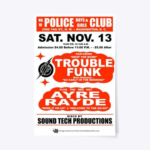Trouble, Ar   Boys, Girls Club   Poster Standard T-Shirt Front
