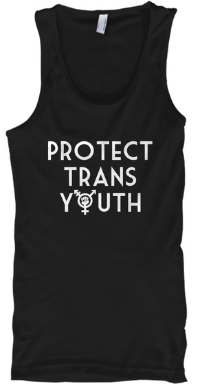 Protect Trans Youth Tank Top Front