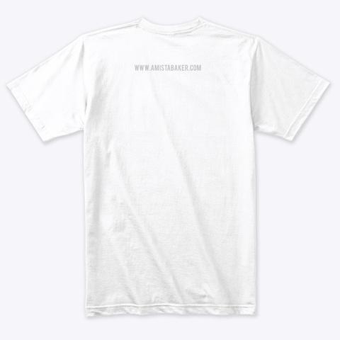 Modern Maker Heather White T-Shirt Back