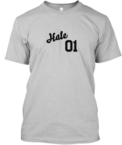 Hale Varsity Legend Light Steel T-Shirt Front