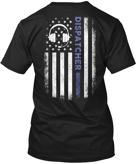 Dispatcher T-Shirt Back