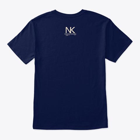 English Saddle Navy T-Shirt Back