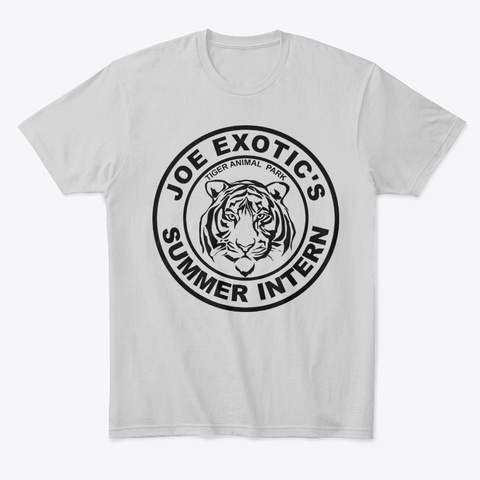 Tiger Intern Light Heather Grey  T-Shirt Front