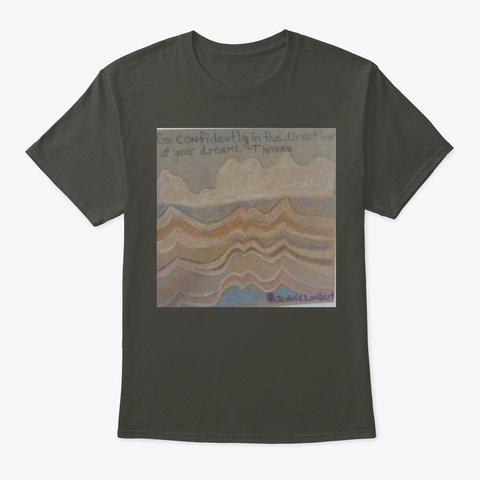 Art By Jennie Lambert Smoke Gray T-Shirt Front