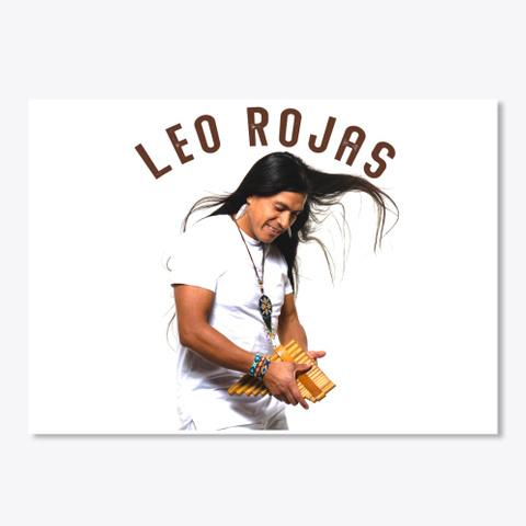 Leo Rojas White Edition  White T-Shirt Front