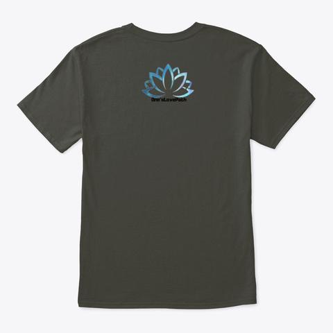 Meditation Smoke Gray T-Shirt Back