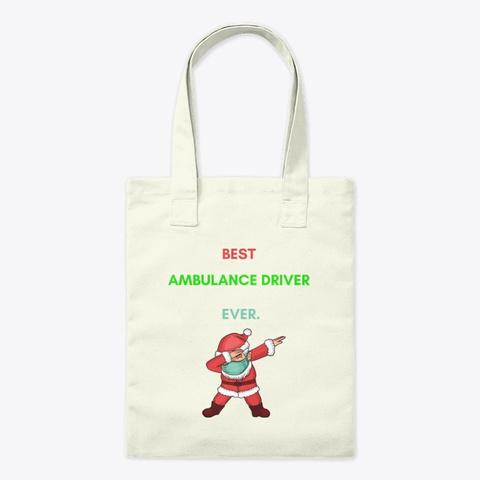 Funny Christmas 2020 Gift Dabbing Santa  Natural T-Shirt Front