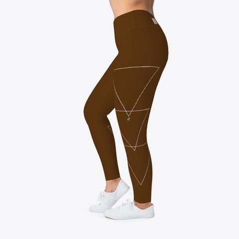 Jiu Jitsu Thick Thighs Triangles   Spats Standard T-Shirt Left