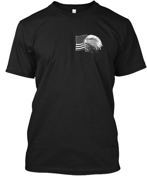 America   Limited Edition Black T-Shirt Front