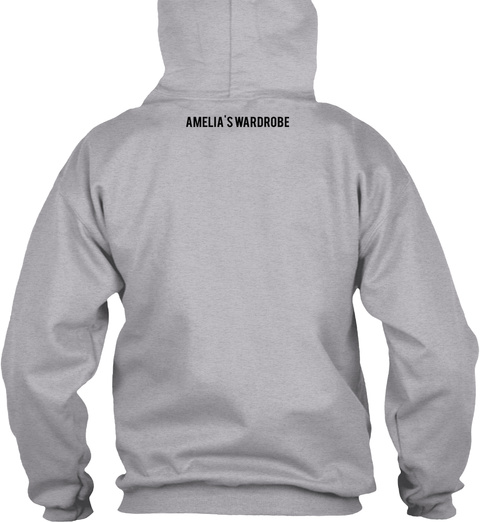 Amelia's Wardrobe Sport Grey T-Shirt Back