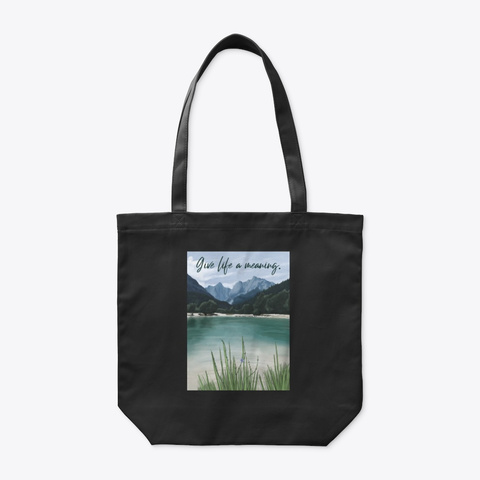 Tote Bag   City Collection Black T-Shirt Front