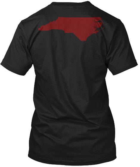 Disaster Appeal For North Carolina Black T-Shirt Back