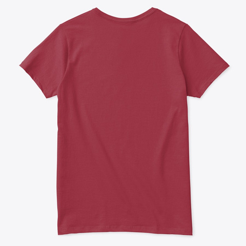 All I Want For Christmas Is June Deep Red  T-Shirt Back