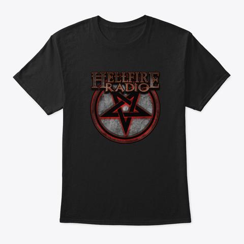 Hellfire Radio Black T-Shirt Front