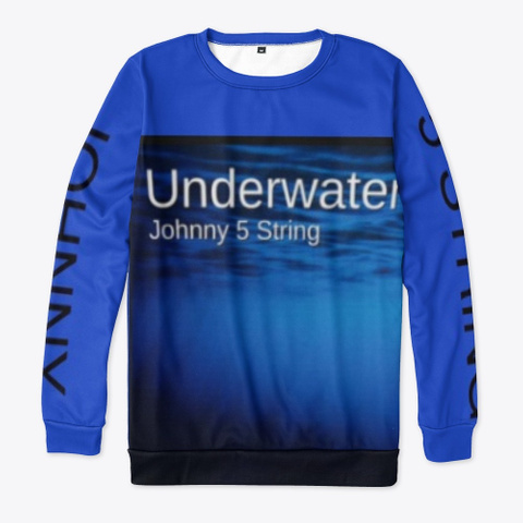Johnny 5 String   Underwater  Royal Blue T-Shirt Front