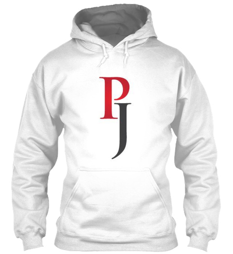 Paranormal Junkie Hoodie White T-Shirt Front