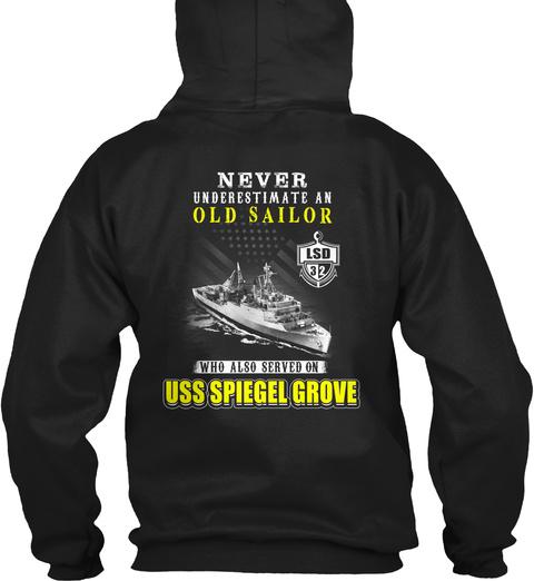USS spiegel grove lsd-32 old sailor LongSleeve Tee