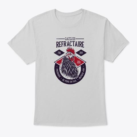 Gaulois Réfractaire Vintage (Clair) Light Steel T-Shirt Front