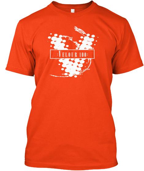 : Velour 100 : Deep Orange  T-Shirt Front